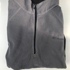 Columbia Half Zip Fleece Jacket